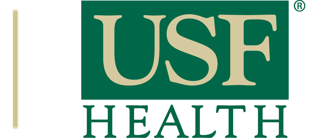 USF Health Logo No Bg Gold Bar Left